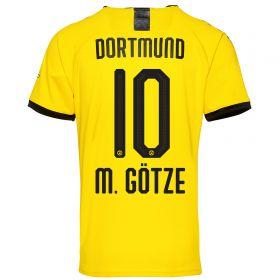 BVB Home Shirt 2019-20 with M. Götze 10 printing