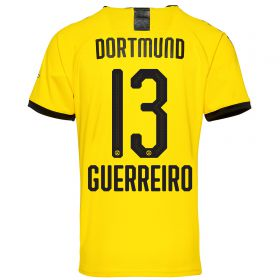 BVB Home Shirt 2019-20 with Guerreiro 13 printing