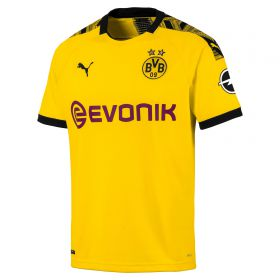 BVB Home Shirt 2019-20 with Akanji 16 printing