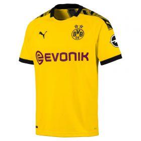 BVB Home Shirt 2019-20 with Sergio Gomez 17 printing