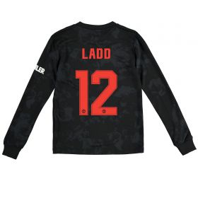 Manchester United Cup Third Shirt 2019 - 20 - Kids - Long Sleeve with Ladd 12 printing