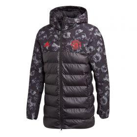 Manchester United Seasonal Padded Jacket - Black