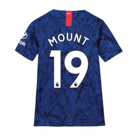 Chelsea Home Stadium Shirt 2019-20 - Kids with Mount 19 printing