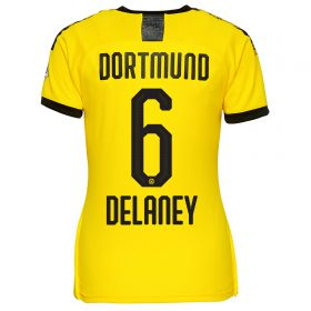 BVB Home Shirt 2019-20 - Womens with Delaney 6 printing