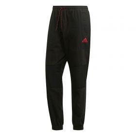 Manchester United Seasonal Fleece Pants - Black