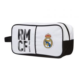 Real Madrid Crest Shoe Bag - 290 x 140 x 150mm