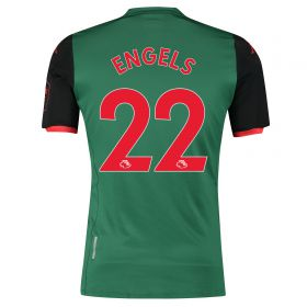 Aston Villa Third Shirt 2019-20 with Engels 22 printing