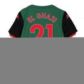Aston Villa Third Shirt 2019-20 - Kids with El Ghazi 21 printing