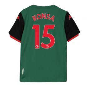 Aston Villa Third Shirt 2019-20 - Kids with Konsa 15 printing