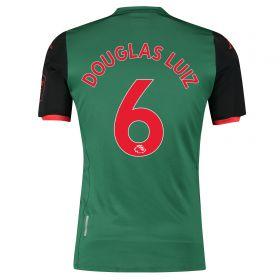Aston Villa Third Shirt 2019-20 with Douglas Luiz 6 printing