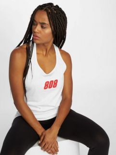 Who Shot Ya? / Tank Tops 808 in white