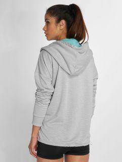 Just Rhyse / Zip Hoodie Akatore Active in grey