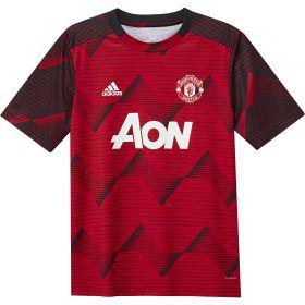 Manchester United Pre Match Alternative Shirt - Red - Kids