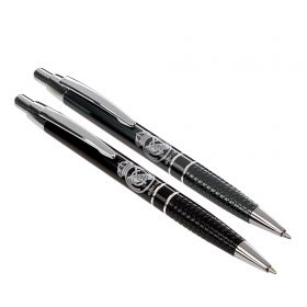Real Madrid Metal Pen & Roller Set