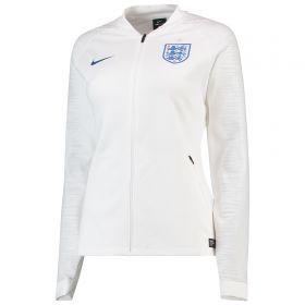 England Anthem Jacket - White - Womens