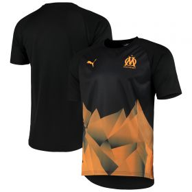 Olympique de Marseille Stadium Jersey - Black