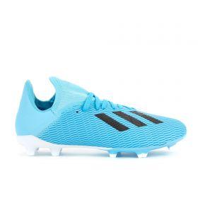 adidas X 19.3 Firm Ground Football Boots - Blue - Kids