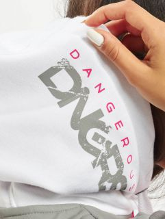 Dangerous DNGRS / Hoodie Anger in white