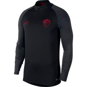 AS Roma Dry Strike Drill Top - Mens