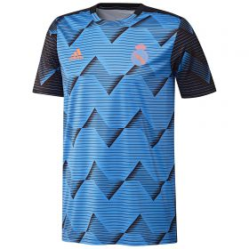 Real Madrid Pre Match Alternative Shirt - Blue - Kids
