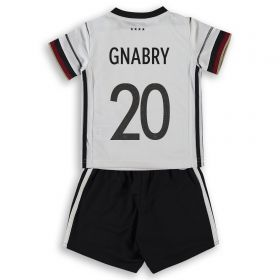 Germany Home Minikit with Gnabry 20 printing