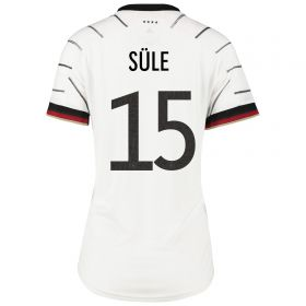 Germany Home Shirt - Womens with Sule 15 printing