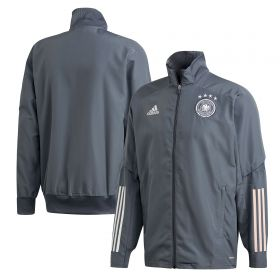 Germany Presentation Jacket - Dk Grey