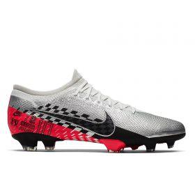 Nike Mercurial Vapor 13 Pro Neymar Firm Ground Football Boots - Chrome