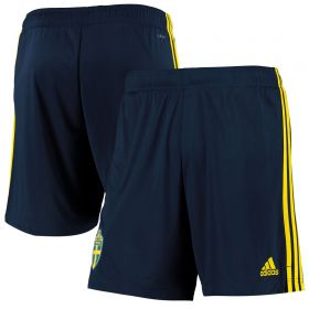 Sweden Home Shorts - Youth 2019-21