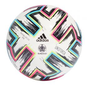 adidas Euro 2020 Uniforia Mini Football - White
