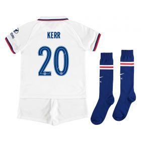 Chelsea Away Cup Stadium Kit 2019-20 - Little Kids with Kerr 20 printing