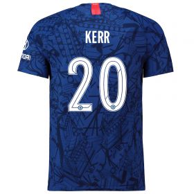 Chelsea Home Cup Vapor Match Shirt 2019-20 with Kerr 20 printing