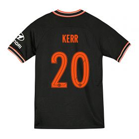 Chelsea Third Cup Stadium Shirt 2019-20 - Kids with Kerr 20 printing