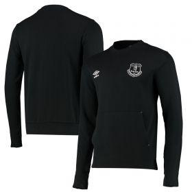 Everton Crew Sweatshirt - Black - Mens