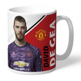 Manchester United Personalised Signature Mug - De Gea