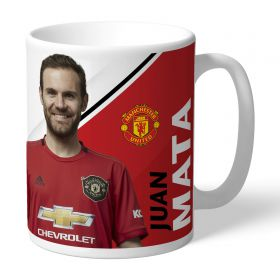 Manchester United Personalised Signature Mug - Mata