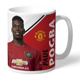 Manchester United Personalised Signature Mug - Pogba