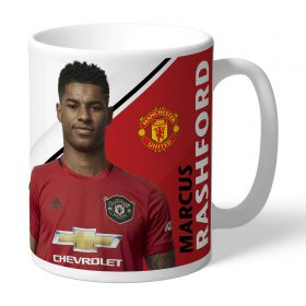 Manchester United Personalised Signature Mug - Rashford
