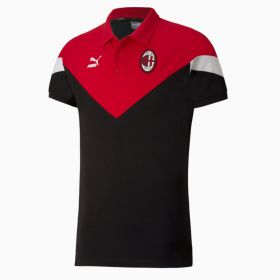 AC Milan Iconic MCS Polo - Black
