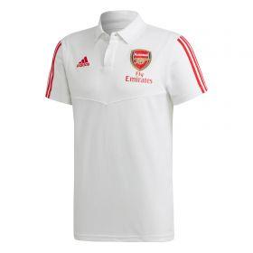 Arsenal Training Polo - White
