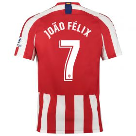 Atlético de Madrid Pre-Printed Home Stadium Shirt 2019-20 with Joao Felix 7