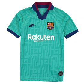 Barcelona Third Stadium Shirt 2019-20 - Kids with F. De Jong 21 printing