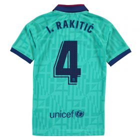 Barcelona Third Stadium Shirt 2019-20 - Kids with I.Rakitic 4 printing