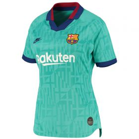 Barcelona Third Stadium Shirt 2019-20 - Womens with Griezmann 17 printing