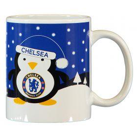 Chelsea Penguin Christmas 110z Mug