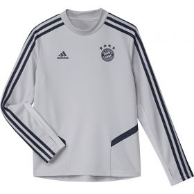 FC Bayern Training Top - Grey - Kids
