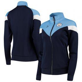 Manchester City MCS Track Jkt - Navy - Womens