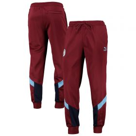 Manchester City MCS Track Pant - Burgundy