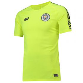 Manchester City Squad Training Top - Yellow