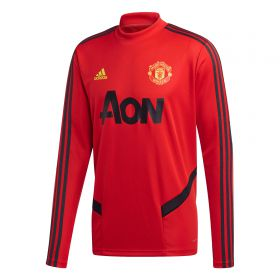 Manchester United LS Training Top - Red